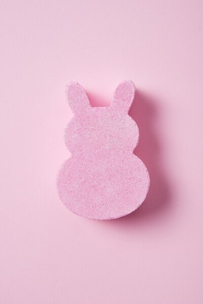 Bunny Bath Fizzer, PINK SHIMMER
