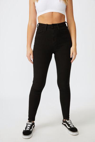 The Skinny Premium Jean Long, BLACK