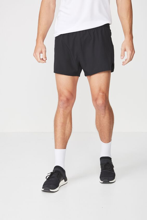Team 2-In-1 Running Short, BLACK