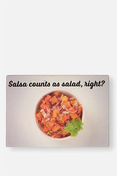 Quirky Magnets, FD SALSA SALAD