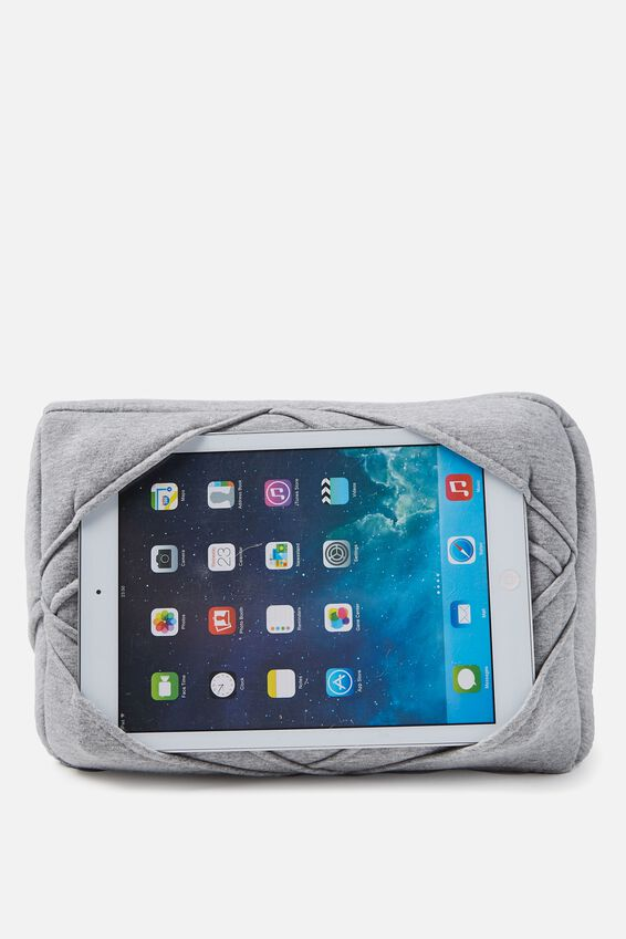 Tablet Cushion, GREY MARLE