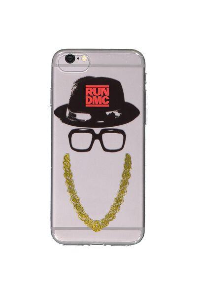 Transparent Phone Cover 7, 8, LCN RUN DMC