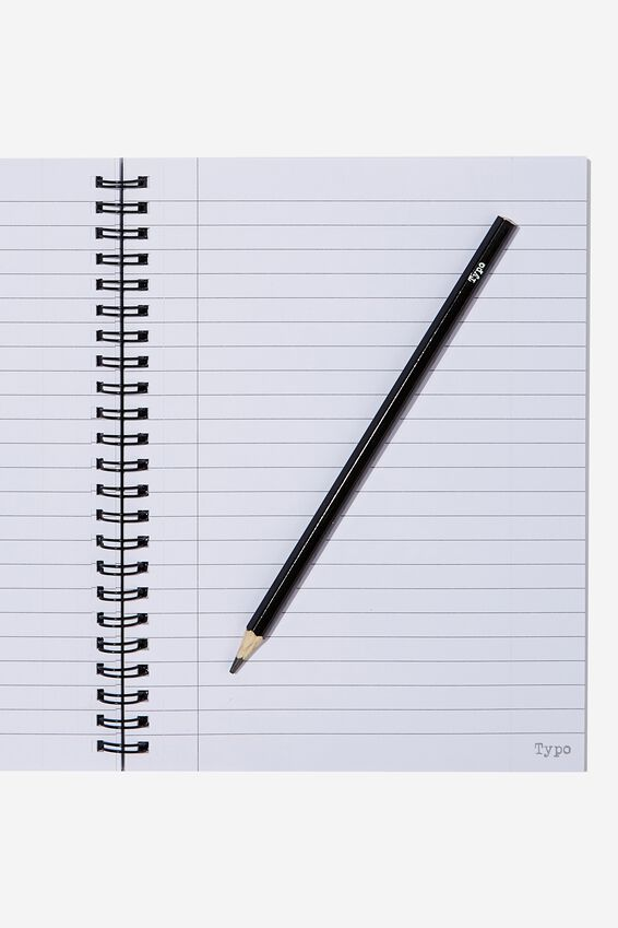 Small Spinout Notebook - V, DONT WORRY BE YAPPY PUG