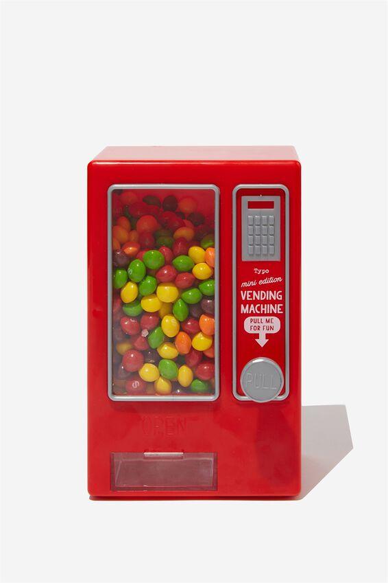 Mini Vending Machine, RED