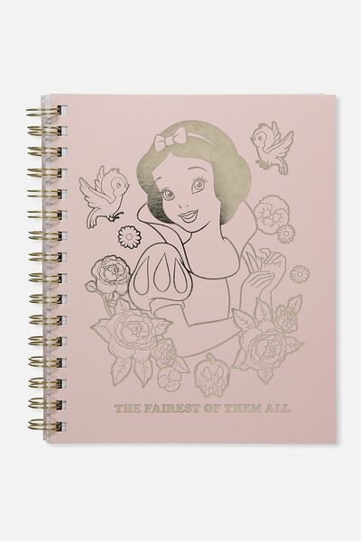 Medium Campus Notebook - 240 Pages, LCN SNOW WHITE FAIREST OF THEM ALL