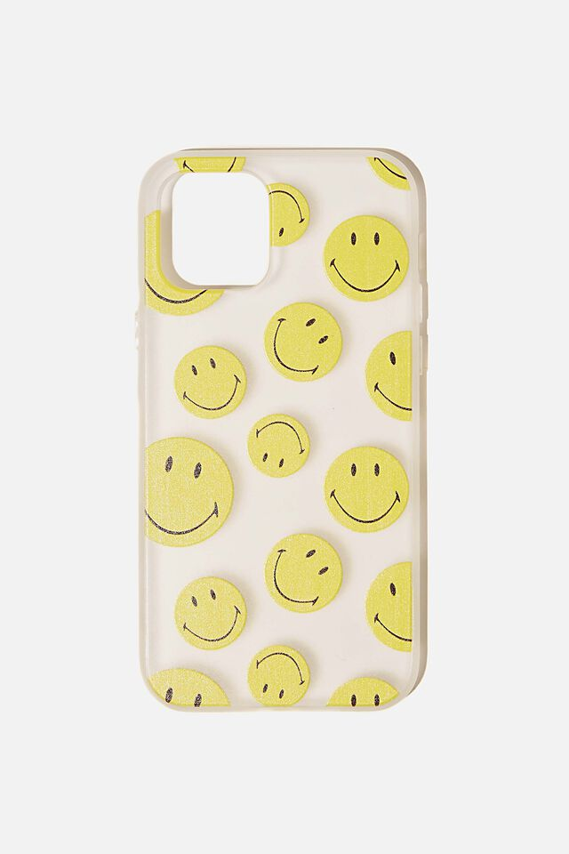 Protective Phone Case Iphone 12, 12 Pro, LCN SMI SMILEY YDG