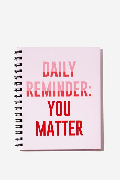 Medium Campus Notebook - 240 Pages, YOU MATTER