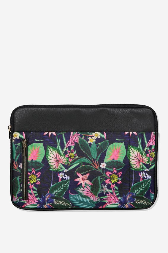 Take Charge Laptop Cover 13 inch, RESORT FLORAL