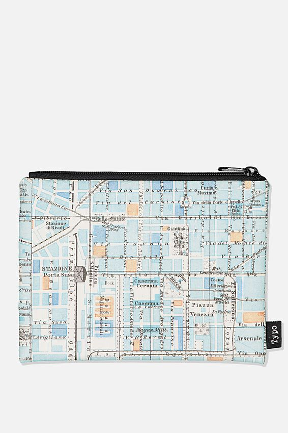 Pu Campus Pencil Case, SUBWAY MAP
