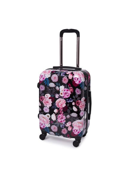 Carry On Suitcase, BUFFALO FLORAL