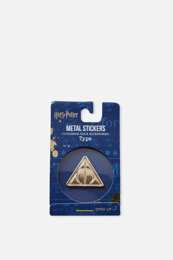 Harry Potter Metal Sticker, LCN HP DEATHLY HALLOWS