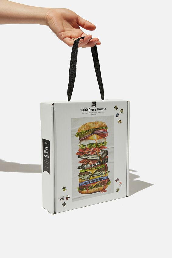 1000 Piece Puzzle, BURGER STACK