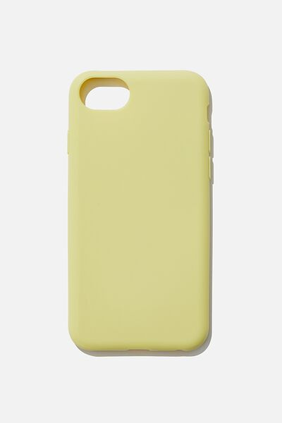 Slimline Recycled Phone Case Iphone SE, 6,7,8, LEMON LIME