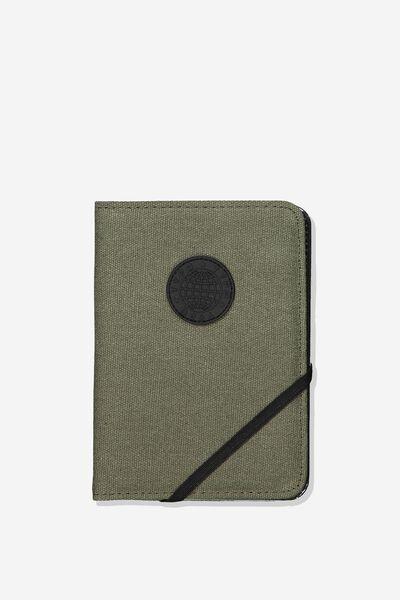 Passport Holder, SAGE CANVAS