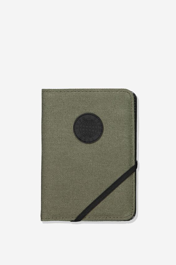 Passport Holder, SAGE CANVAS