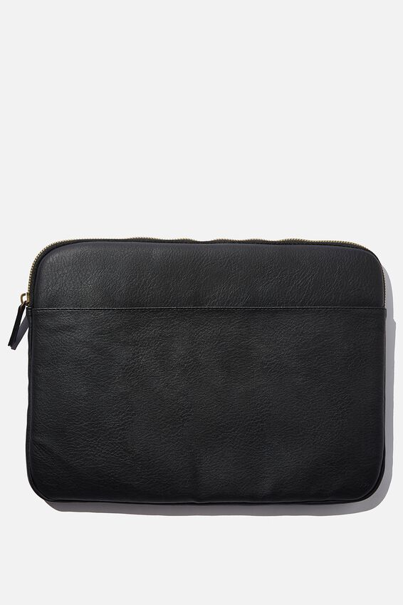 Core Laptop Cover 15 Inch, JETT BLACK