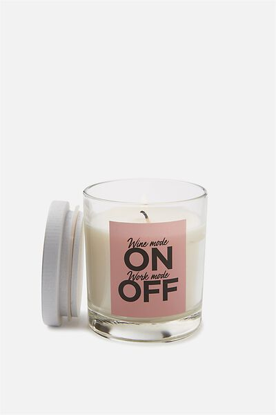 Quote Candle, WINE MODE ON!