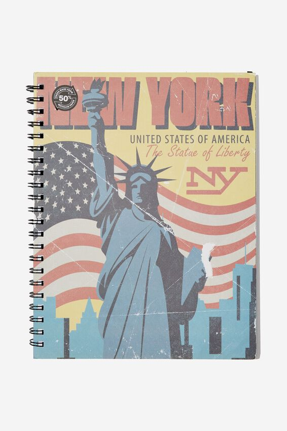 A4 Campus Notebook - Rec, NEW YORK LIBERTY