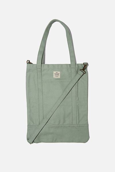 Book Tote Bag, GUM LEAF