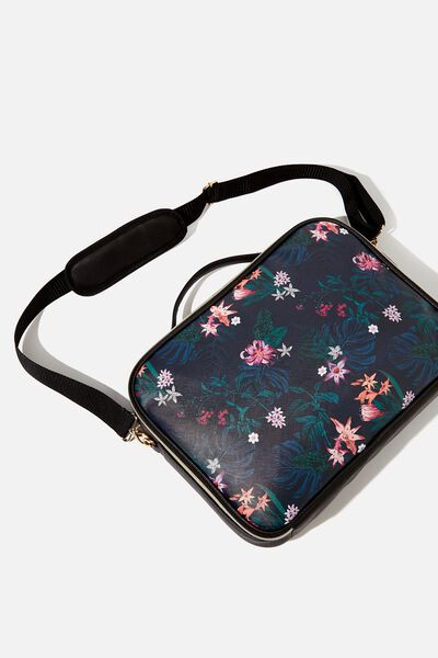 Mobile Laptop Folio 15 Inch, JUNGLE FLORAL