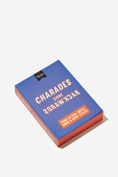 Pocket Party Games, REVERSE CHARADES