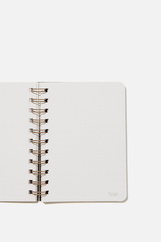 A6 Dot Daily Scribe Notebook, CHERRY BLOSSOM COOL GREY