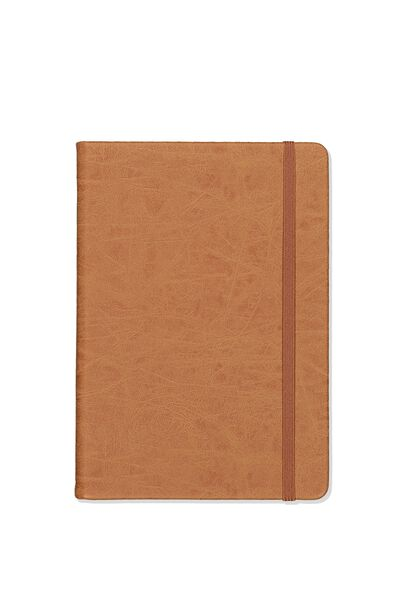 "A5 Dot Buffalo Journal (8.27"" x 5.83""), MID TAN"
