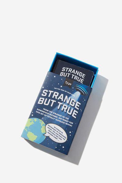 Pocket Trivia Game, STRANGE BUT TRUE