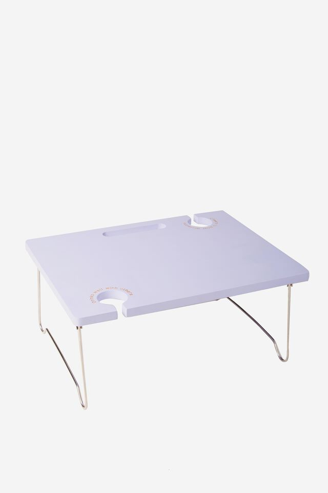 Picnic Table For Two, PALE LILAC QUOTES
