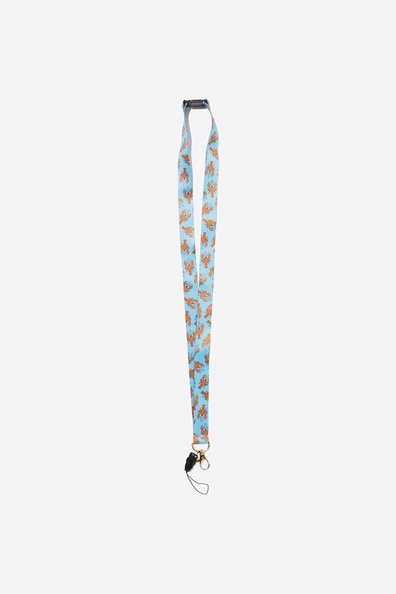 Printed Lanyard, LOBSTER YARDAGE