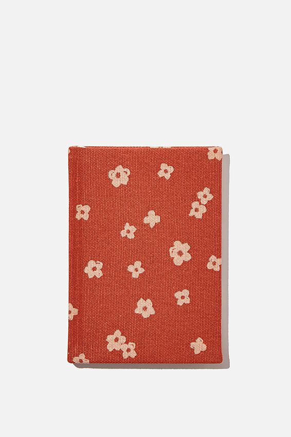 2021 A6 Oxford Weekly Diary, CHARLIE FLORAL RUST