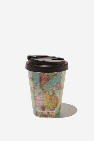 Take Me Away Mug, MAP PRINT