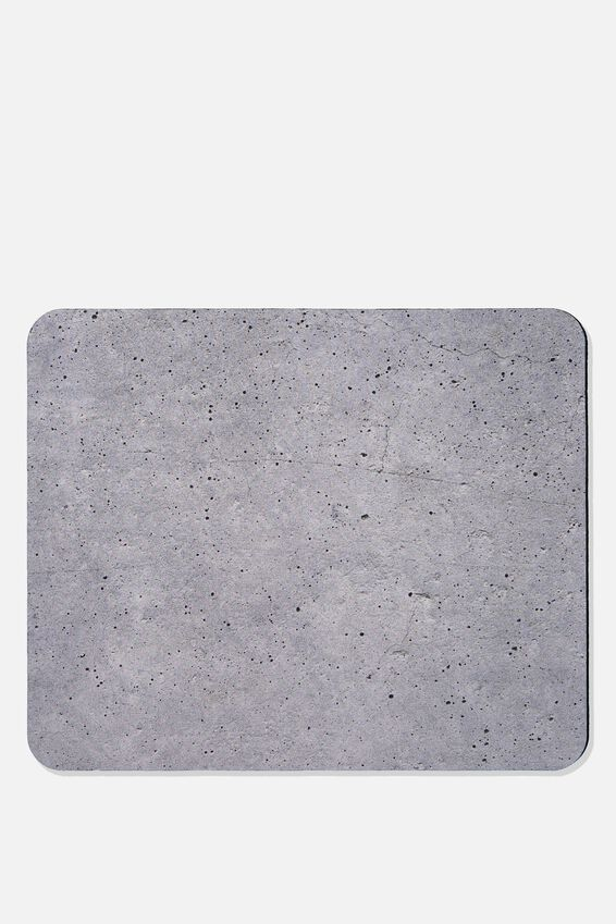 Neoprene Mouse Pad, CONCRETE
