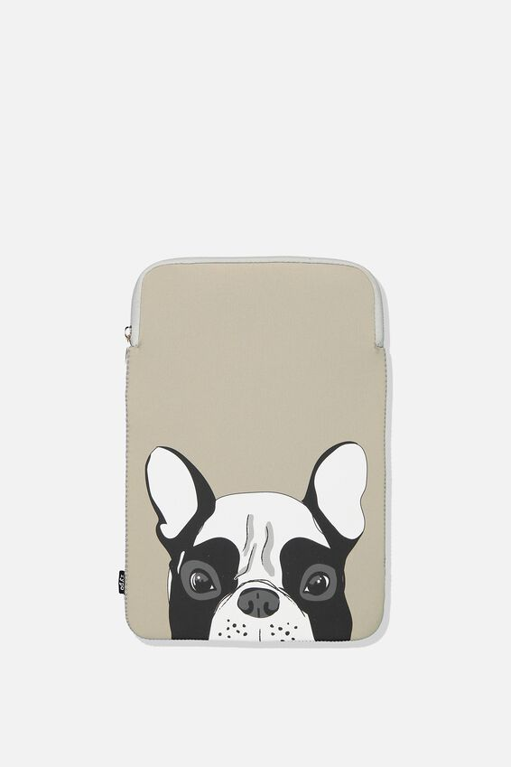 Laptop Sleeve 13 Inch, FRENCH BULLDOG
