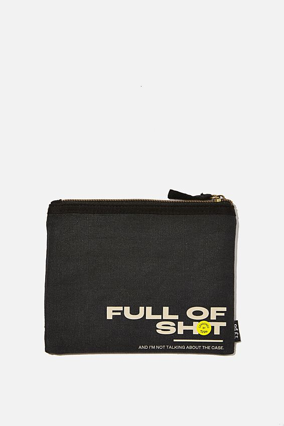 Spinout Pencil Case, FULL OF SH*T!!
