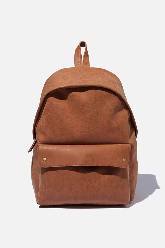 Austin Backpack, MID TAN