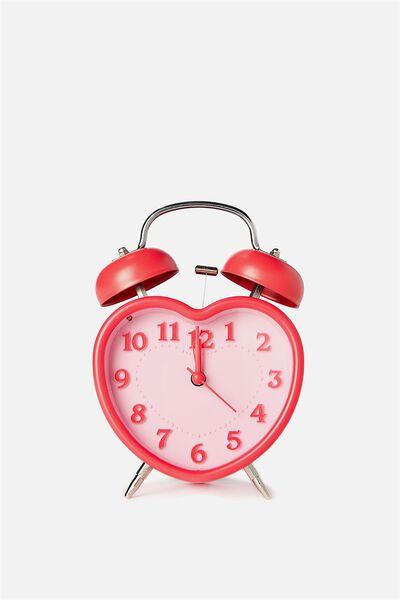 Alarm Clock, PINK HEART