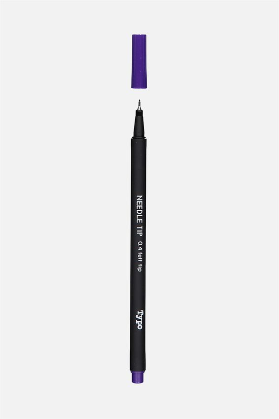 Needle Me Felt Tip Pen, PURPLE