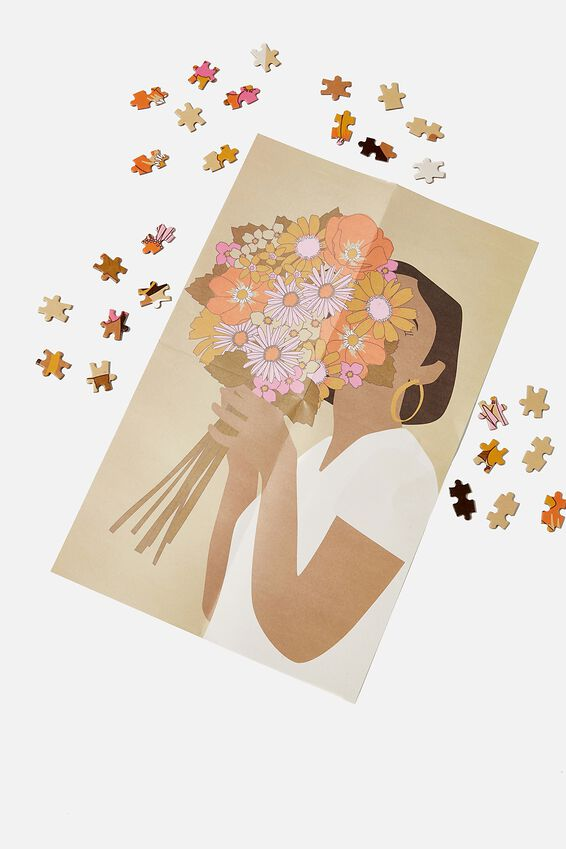 1000 Piece Puzzle, FLOWER GIRL