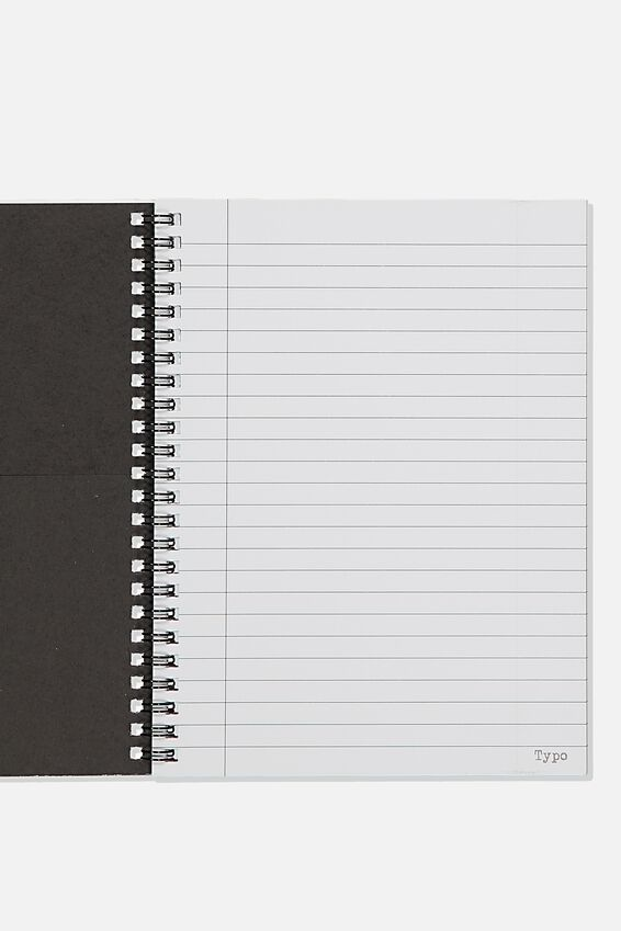 A5 Spinout Notebook Recycled, NO ONE NOTICED