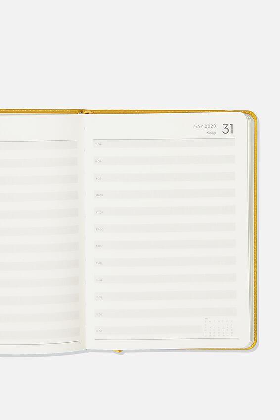 2020 A5 Daily Buffalo Diary, MUSTARD