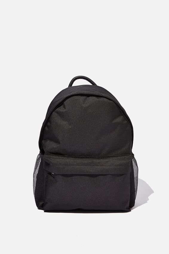 Fundamental Backpack, BLACK CANVAS