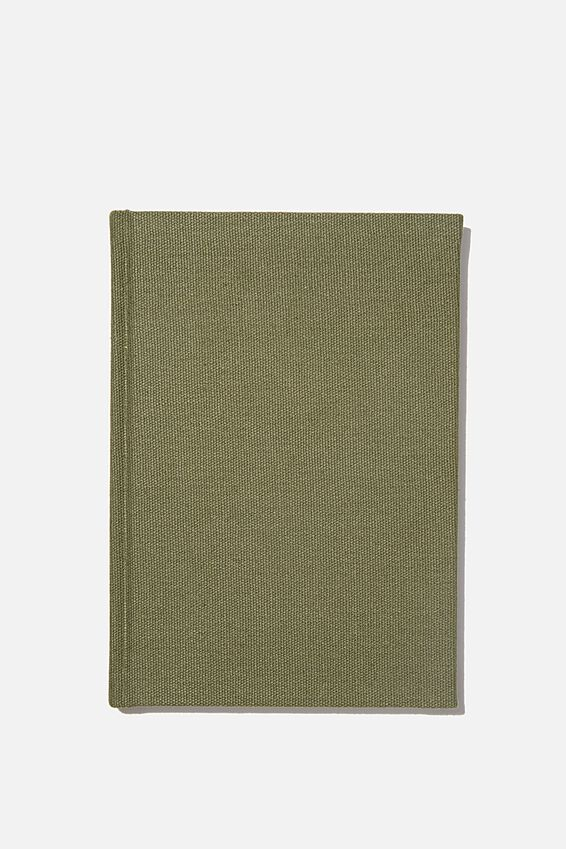 A5 Sketch Notebook, KHAKI CANVAS