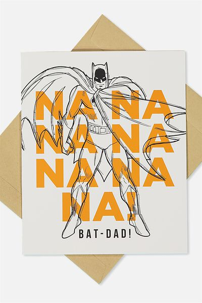 Fathers Day Card, LCN BATDAD