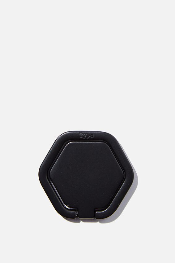Metal Phone Ring, HEXAGON