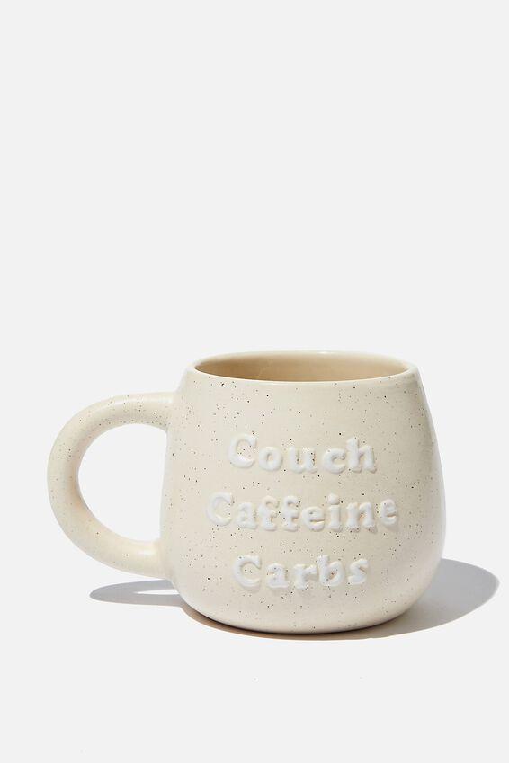 Subtle-Tea Mug, COUCH CAFFEINE
