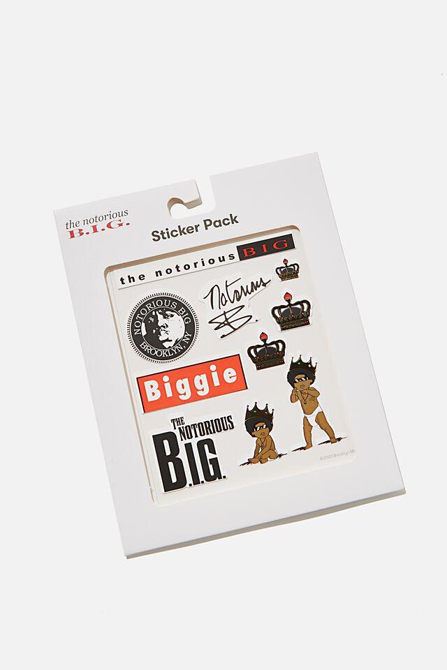 Licensed Sticker Pack, LCN MT BIGGIE SMALLS