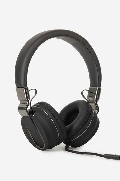 Frequency Headphones, MATTE BLACK