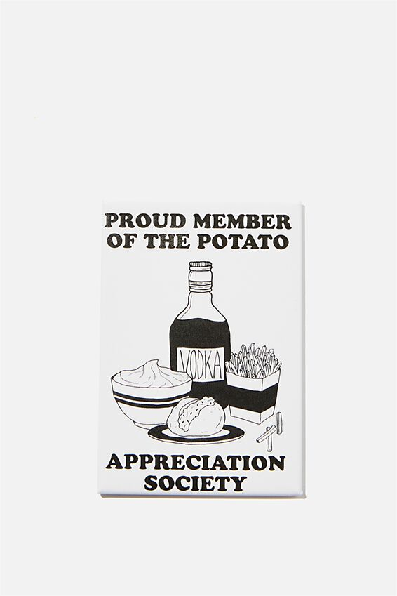 Quirky Magnets, POTATO APPRECIATION