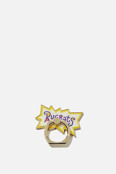 Licenced Metal Phone Ring, LCN NIC RU RUGRATS